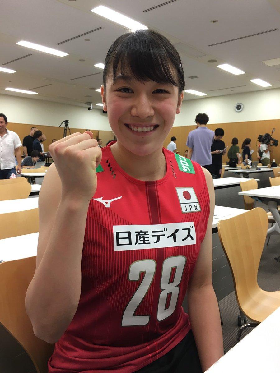 石川真佑 日本代表