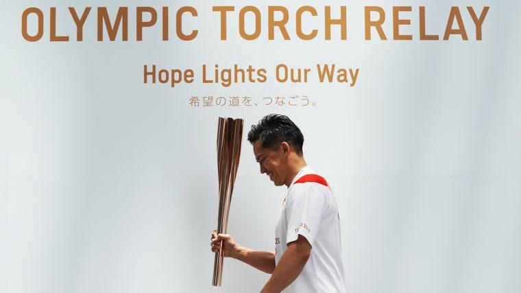 東京オリンピック 聖火ランナー